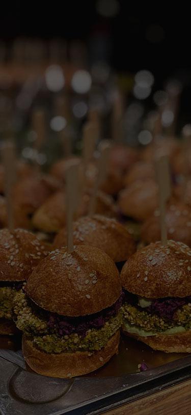 Fingerfood Mini-Hamburger